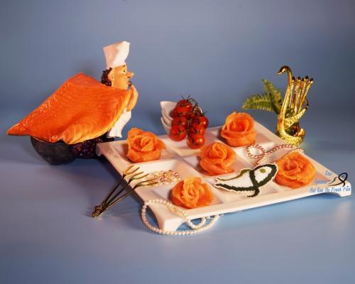 煙三文魚 Smoked Salmon